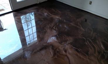 Metallic Epoxy Floor Missouri